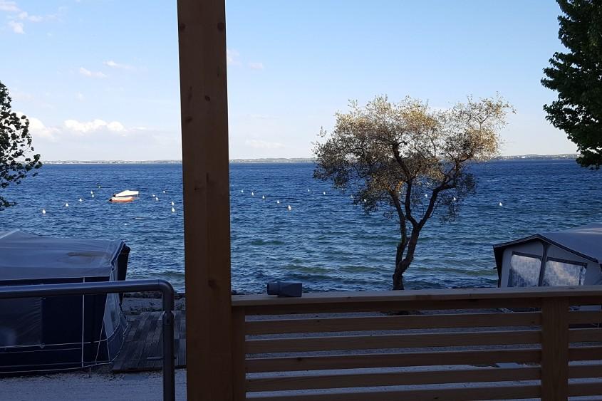 le nuove case mobili fronte lago - campeggio delle rose - Case Mobili Nuove
