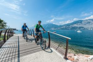 Lago di Garda by Bike durante la Pasqua
