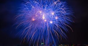 Vacanze Invernali sul lago di Garda: i fuochi d'artificio di capodanno.