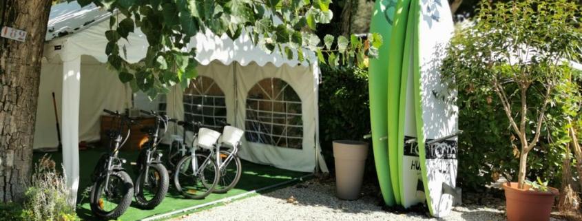 Noleggio bici elettriche a Moniga del Garda