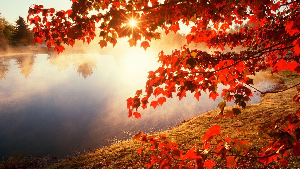lago di garda in autunno, campeggio delle rose
